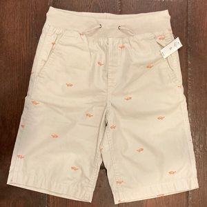NWT preppy print gap kids shorts